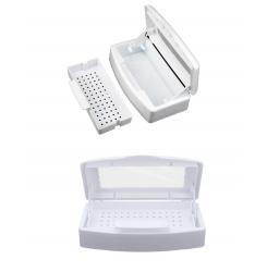 Контейнер для стерилизации и замачивания инструментов, 500 мл белый