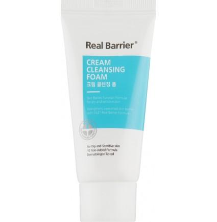 Пенка очищающая кремовая Real Barrier Cream Cleansing Foam, 15 мл
