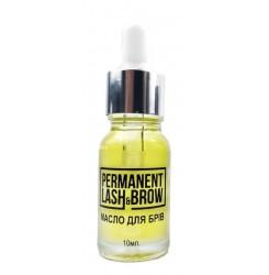 Масло для бровей Permanent lash&brow, 10 мл (большой флакон)