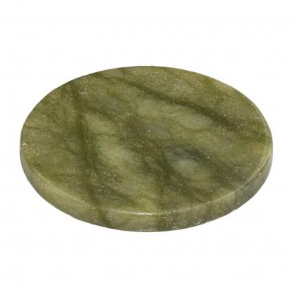 Нефритовый камень для клея / зеленый