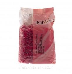Воск гранулированный Ital Wax Роза (Винный), 1 кг
