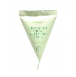 Маска ночная с центеллой Trimay Centella Cica Sleeping Pack / треугольник ( светло-зеленый), 3 г