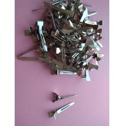 Зажим металлические заостренные для создания локонов, 75 шт в тубусе