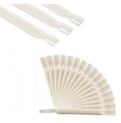 Палитра для гель-лаков на кольце 50 шт / квадратная форма