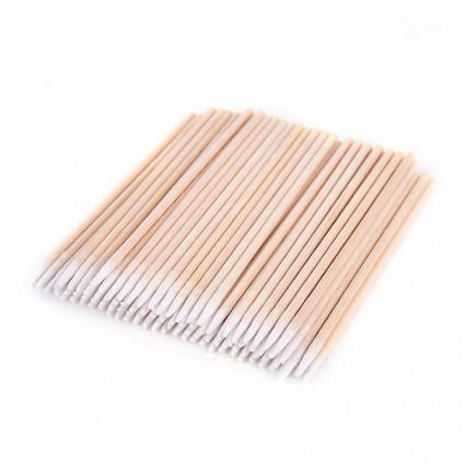 Ватные палочки бамбуковые, 100 шт (тонкие)