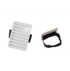 Подставка-браслет для ресниц / белая планшетка