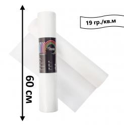 Простынь одноразовая в рулоне 100 м 19 гр./кв.м (белый) 60 см