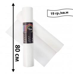 Простынь одноразовая в рулоне 100 м 19 гр./кв.м (белый) 80 см