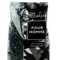 Воск гранулированный Ital Wax Чёрный Pour Homme, 200 г