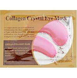 Патчи под глаза увлажняющие с коллагеном Collagen Crystal Eye Mask Pink, 1 пара / розовые