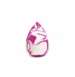 Спонж супер-мягкий бело-розовый капля SP2 ZOLA / яркий