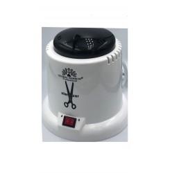 Стерилизатор шариковый круглый пластиковый G-70 / белый