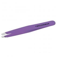 Пинцет для бровей Tweezerman стандартный / фиолетовый
