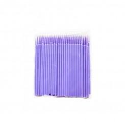 Микробраши в пакете 100шт / фиолетовый