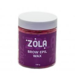 Воск Brow Epil Wax в гранулах для бровей и лица ZOLA, 150 г