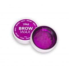 Воск для фиксации бровей Brow Wax ZOLA / 30 г баночка