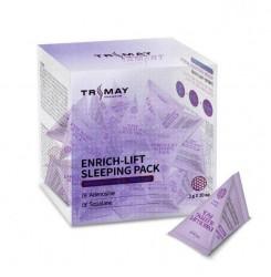 Маска ночная для повышения эластичности Trimay Enrich-lift Sleeping Pack / треугольник (фиолет), 3 г